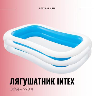 #56483NP ЛЯГУШАТНИК INTEX 262 х 175 х 56 СМ