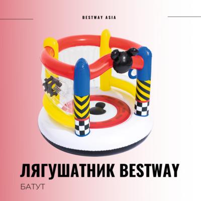 #91075 ЛЯГУШАТНИК BESTWAY 137 х 119 СМ