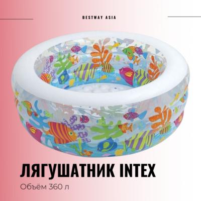 #58480NP ЛЯГУШАТНИК INTEX 152 х 56 СМ