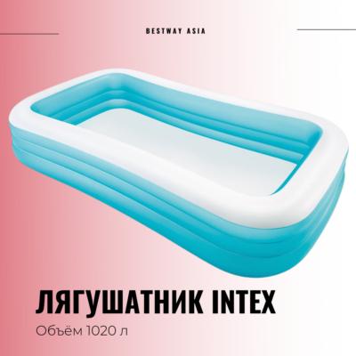 #58484 ЛЯГУШАТНИК INTEX 305 х 183 х 56 СМ