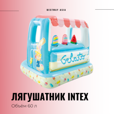 #48672 ЛЯГУШАТНИК INTEX 127 х 102 СМ